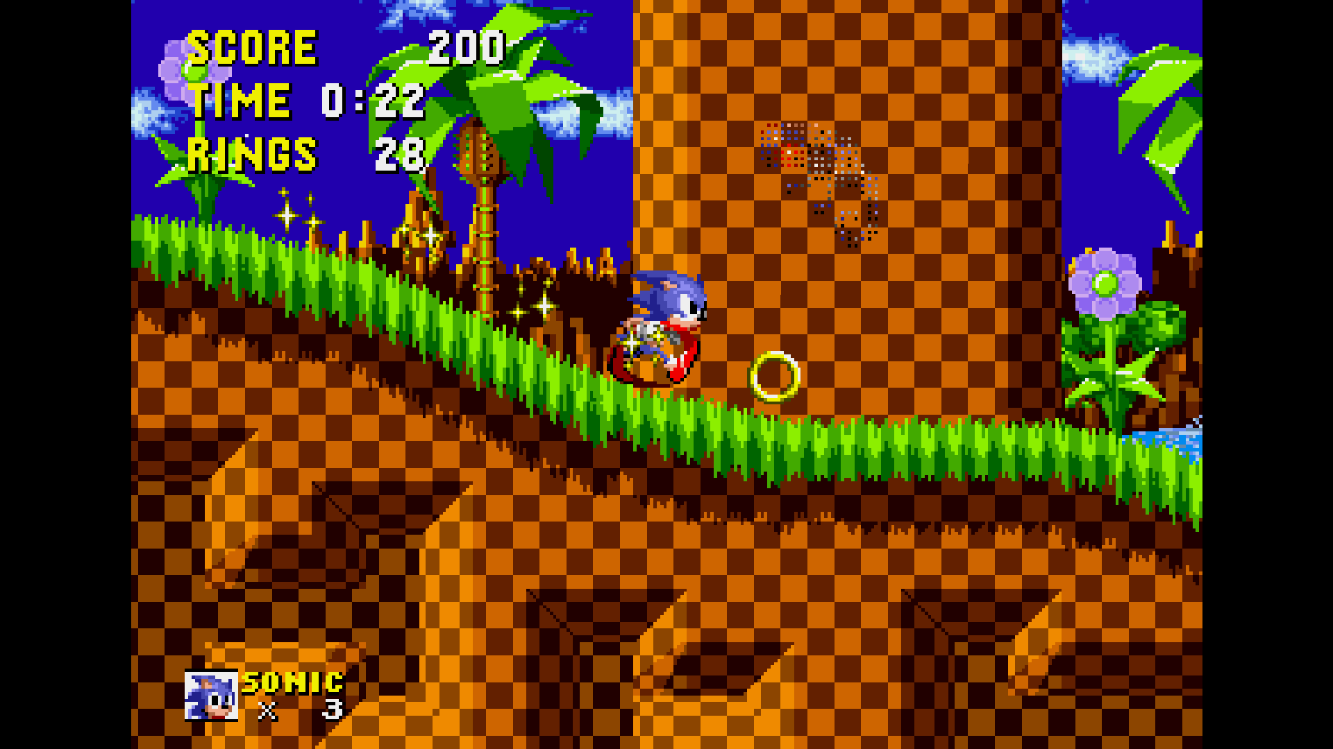 Retro Sonic Gameplay